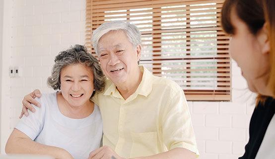 Service à domicile en asie