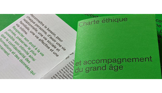 Charte éthique et accompagnement du grand âge